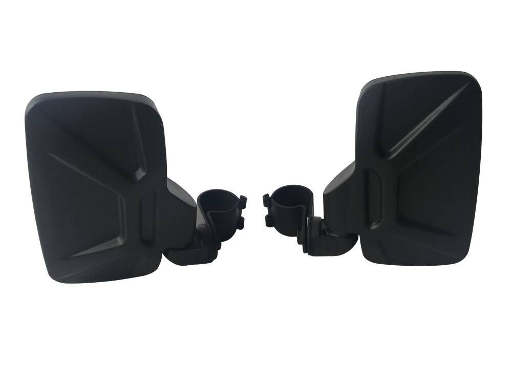 Motobiker Set of 2 UTV Side View Mirror with 1.75 Roll Bar Cage Tempered Glass Breakaway Mirrors for Polaris RZR XP1000 RZR900 for John Deere Gators Break Away Side Mirror