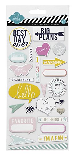 Heidi Swapp Chipboard Pieces Hello Sticker ()