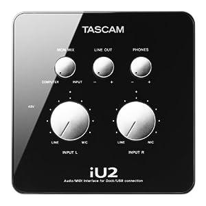 Tascam iU2 Audio MIDI Recording Interface For iOS