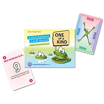 Amazon.com: One of a Kind: A Self-Esteem Card Game: Toys & Games