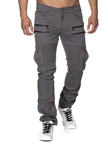 Tazzio - Pantalon - Slim - Homme -  gris - 30W/32L