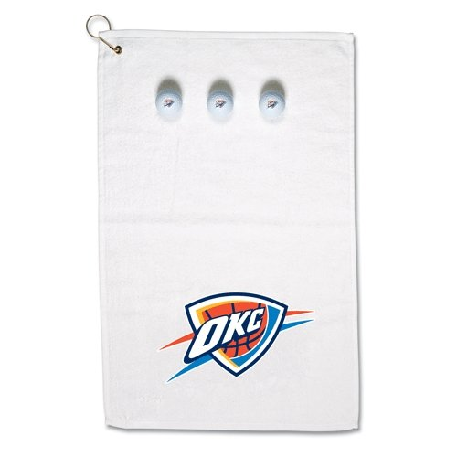 WinCraft NBA Oklahoma City Thunder Golf Gift Set