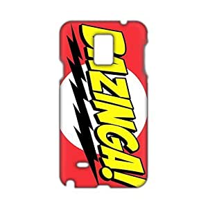 Angl 3D Case Cover Bazinga Phone Case for Samsung Galaxy Note4