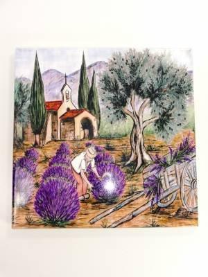 Dessous De Plat Intitul/é Chapelle en Provence