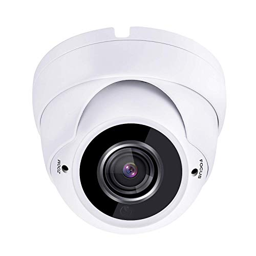 HDView 2.4MP 4-in-1 HD (TVI/AHD/CVI/960H) 2.8-12mm Vari-Focal Lens 1080P Outdoor Super Matrix IR EXIR Turbo Platinum Dome Camera