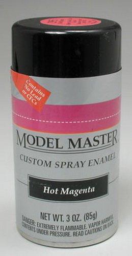 Model Master Enamel Testors - Testors Model Master Automotive Enamel Hot Magenta Spray 1:0 Scale