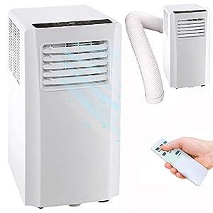 Bakaji Condizionatore Portatile 7000 BTU 2,1 kW Climatizzatore Gas Naturale R290 Aria Condizionata Funzione Ventilatore… 412Yn8aTgrL. SS300