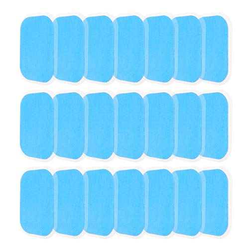 TP TOP BEAUTY 50Pcs Abs Musle Toning Replacement Gel Pads Sheet for AB Toner Abdominal Muscle Trainer Hip Trainer