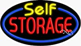 17x30x3 inches Self Storage Flashing ON/OFF NEON Advertising Window Sign