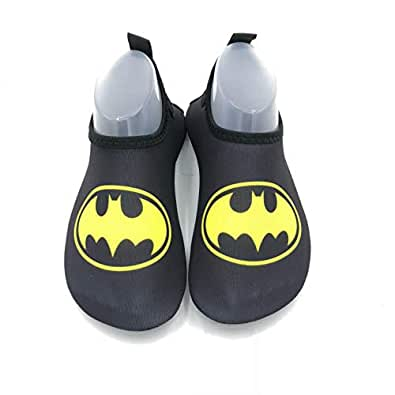kids Water Shoes Quick Dry Dive Beach Aqua Water Socks Upgraded Skin Shoes Booties for Beach Swim Snorkeling Surf Yoga Exercise