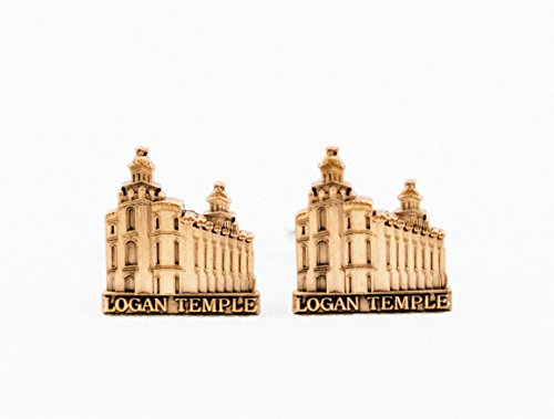 Logan City Temple Mormon Cufflinks (City Of Logan)