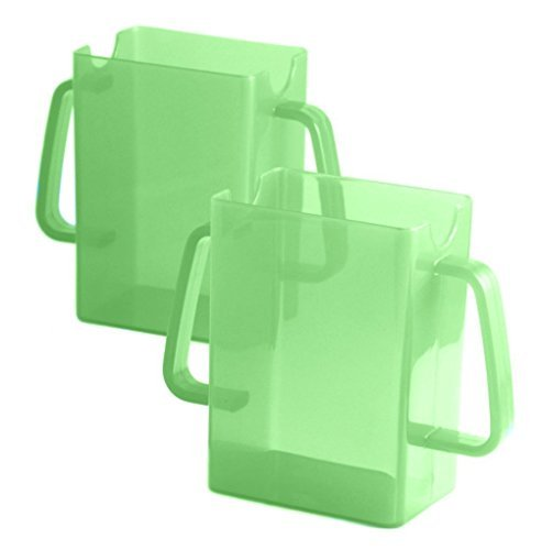 Green Helper Box - Mommy's Helper Juice Box Buddies, 2 Count, Green