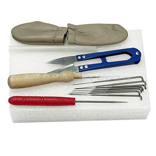 FidgetKute Needle Felting Starter Kits Set Foam Pad Needle Felt Tools Accessories -
