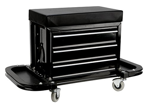 Performance Tool W85025 3-Drawer Rolling Tool Chest Seat...