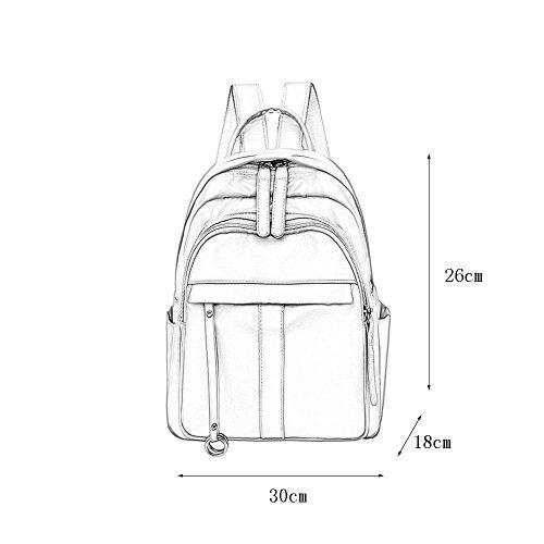 la Oxford del Backpack Viaje Mochila Bolso de C paño Bolso Impermeable del Bolso del Femenino Estudiante de la Mochila del de FFvwaqx