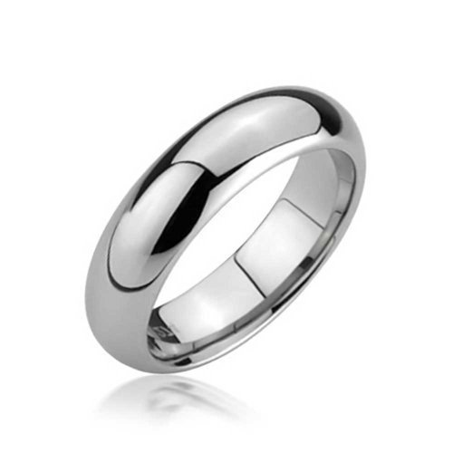 Bling Jewelry Comfort Fit Unisex Tungsten Wedding Band 5mm ()