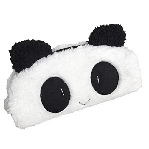 Cute Kawaii Pen Case,Mintu Novelty Item 3D Plush Panda Pencil Case School Supplies for Kids,Starting School Season (White, 21 x 13.5cm) from Mintu_Home&Garden
