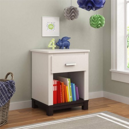 Cosco Products Leni Night Stand, White by Cosco Product