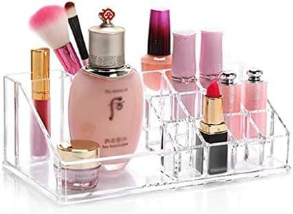 SMEJS Make-up Organizer 360-Grad-Dreh verstellbare Multifunktions-Acryl-Kosmetik-Aufbewahrung