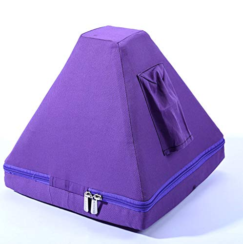CVNC 12 Inch Purple Color Padded Carrying Case Bag For Crystal Singing Pyramid