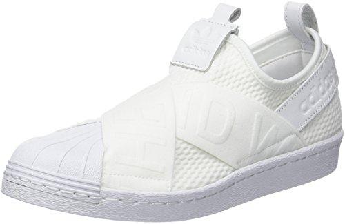 Adidas White Slipon Shoes W Superstar Size 42 White RqSrRn