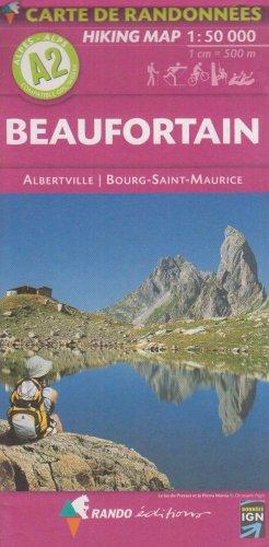 Beaufortain/Albertville/ - Map Albertville