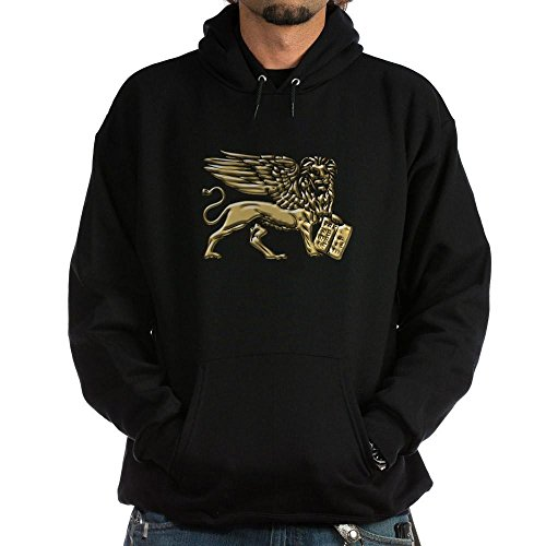 CafePress Lion of St. Mark Hoodie (dark) - Pullover Hoodie, Classic & Comfortable Hooded Sweatshirt (Historical Marks T-shirt)