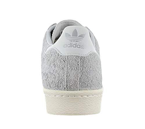 ADIDAS Grigio ADIDAS colore scarpa SUPERSTAR Bianco ORIGINALS ORIGINALS Uomo Grigio marca Grigio 80s Uomo sportiva modello Scarpa Sportiva aXwfqP