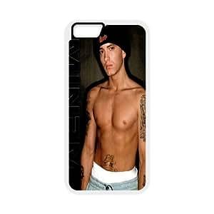 "HardcoreRap Eminem Hard Plastic phone Case Cover+Gift keys stand For Apple Iphone 6,4.7"" screen Cases ZDI067967"