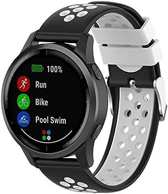 Amazon.com: XHNee Fit for Garmin Vivoactive 4 Watch Bands ...