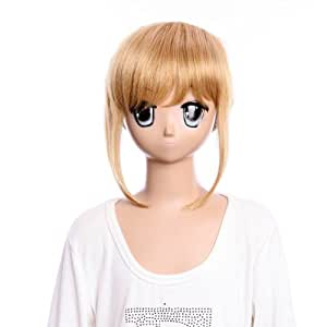 SureWells Cosplay wig long brown wig of Dynasty Warriors hair blonde wig lacefront wig for girls party wig