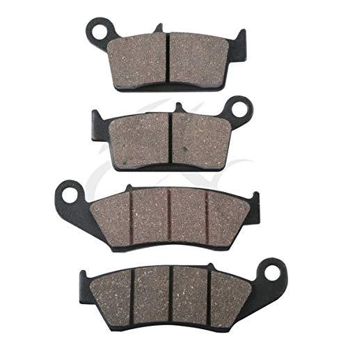 (Value-Home-Tools - Front Rear Brake Pads For SUZUKI RM 125 250 RM125 RM250 DR-Z 400 DRZ400 DR 650 KAWASAKI KX125 KX250 For HONDA XR400 XR400R XR440)