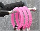 Ride On Pink Glow N Dark Knobby DirtBike Tire Wristband