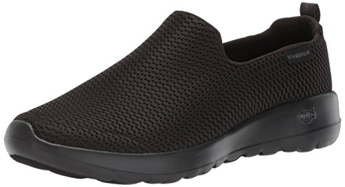 Skechers Performance Women's Go Walk Joy Walking Shoe,black,8.5 W US (Skechers Shoes Black Women)