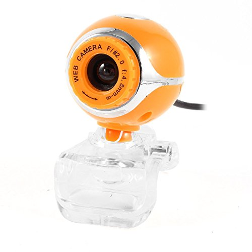 Clip on 1004x1004 1.3 Mega Pixels Camera USB2.0 Webcam Yellow