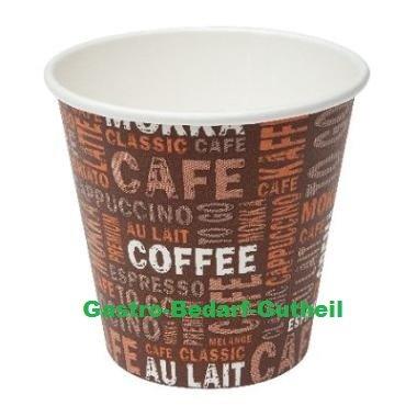 100 Coffee to go 100ml/4oz Pappbecher Espressobecher Mocca