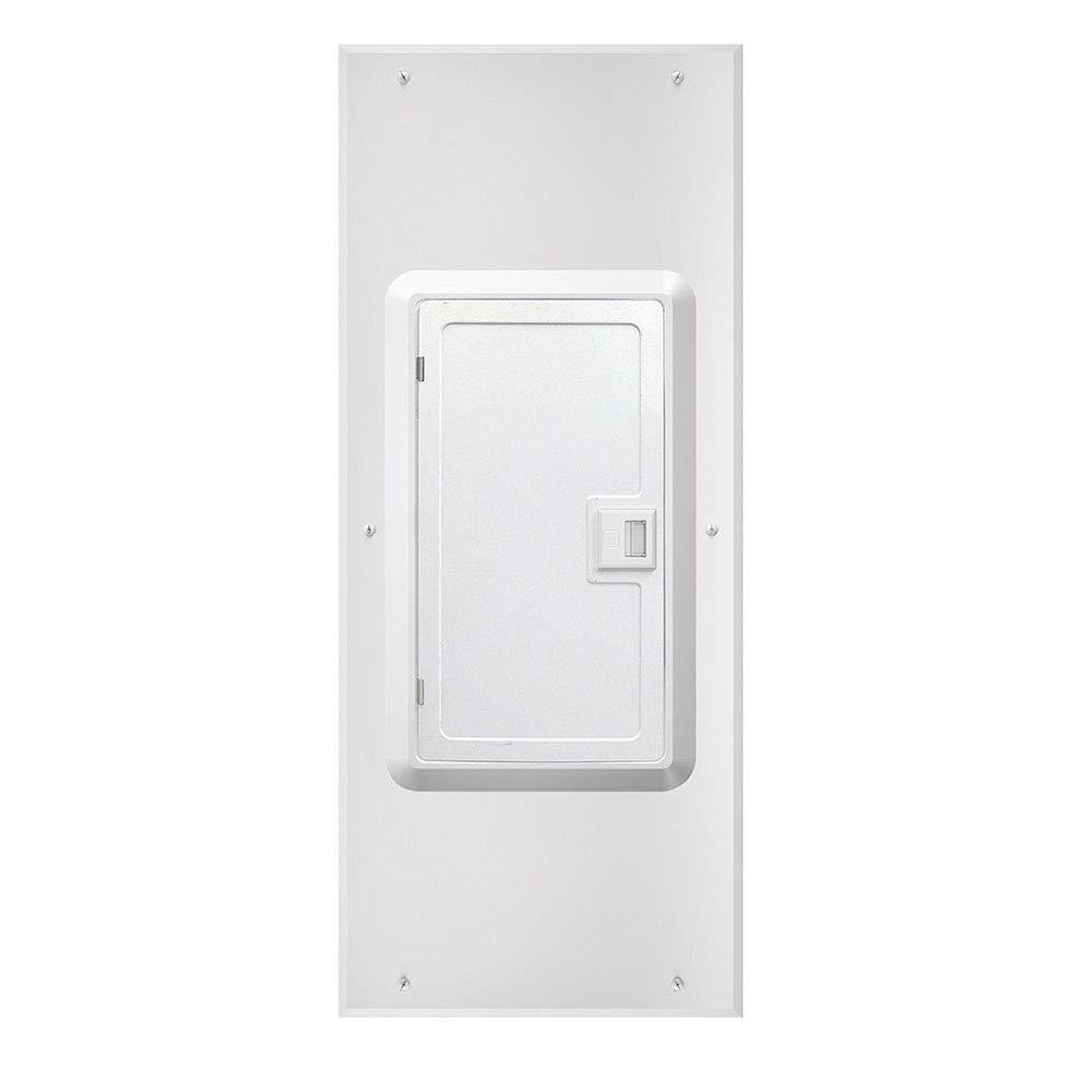 NEMA 1 Leviton LDC20 20-Space Indoor Load Center Cover and Door Flush//Surface Mount