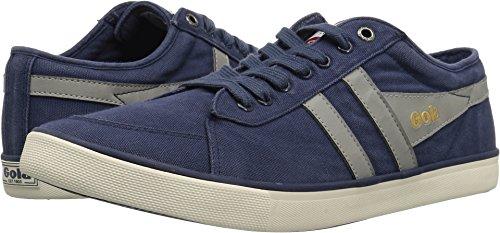 Gola Men Footwear Sneakers - Gola Men's Comet Plimsoll Sneakers | Navy/Light Grey - Blue - 10