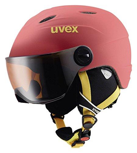 Uvex Kinder Skihelm rot 54-56