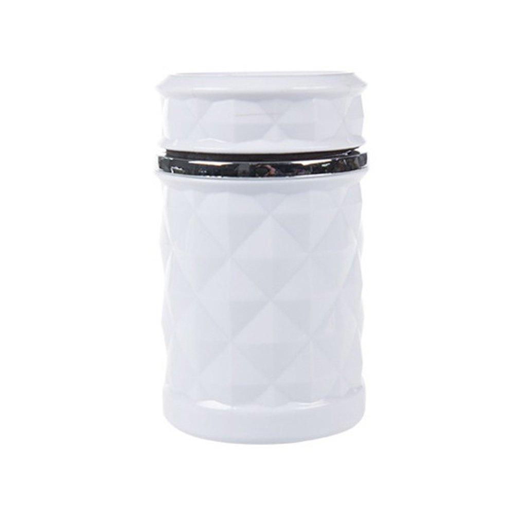 Aruxao Cendrier de Voiture Moderne avec Couvercle pour Grille da/ération