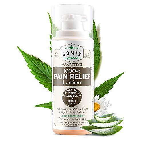 Somis Naturals 1000mg Hemp Pain Relief Lotion 4oz./118ml