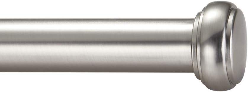 50 x Quality Silver Nickel Metal Curtain Rod Pole Rings 16mm Inner Diameter Pack