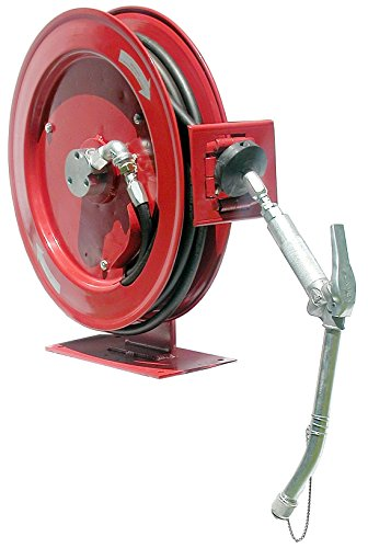 Heavy Duty Medium Pressure Oil Reel Assembly With Control Valve