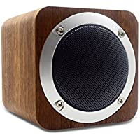 Bluetooth Speaker Wooden, Portable Bluetooth 4.0 Speakers with 10h Play Time, Wireless Computer Speaker with Enhanced Bass Resonator