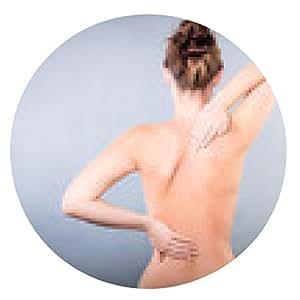 alfombrilla de ratón el dolor de espalda - ronda - 20cm