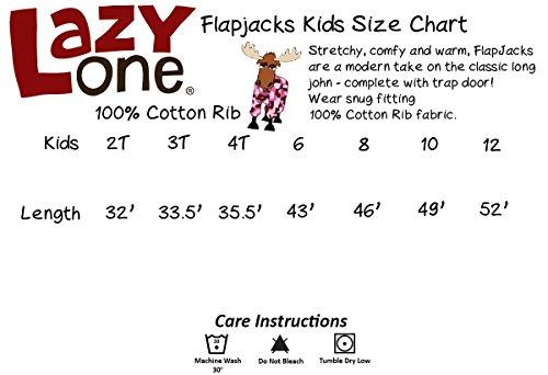 LazyOne Unisex No Peeking! Kinder Flapjack Onesie 3 Jahre