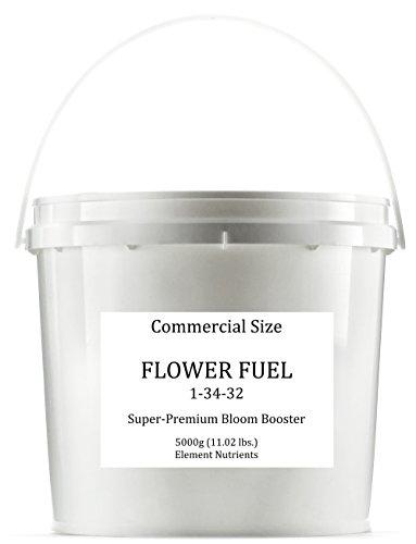 Flower Fuel 1-34-32, 5000g - The Best Flower Additive For Bigger, Heavier Harvests (5000g) by Element