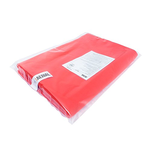 Firetoys Professional Aerial Silks Fabric/Tissues, Medium Stretch Silk WLL 128kg (Red, 8 Metre) by Firetoys (Image #3)