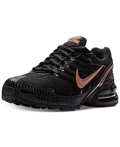 NIKE Women's Air Max Torch 4 Running Shoe Black/Metallic Rose Gold/Atmosphere Grey Size 9 M US