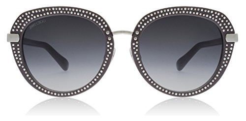 Jimmy Choo Mori/S 9RQ Smoke / Silver Mori/S Round Sunglasses Lens Category 3 - Jimmy Round Choo Sunglasses